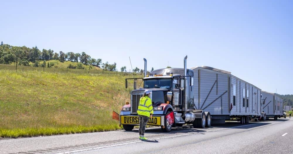 Oversized haul escort.